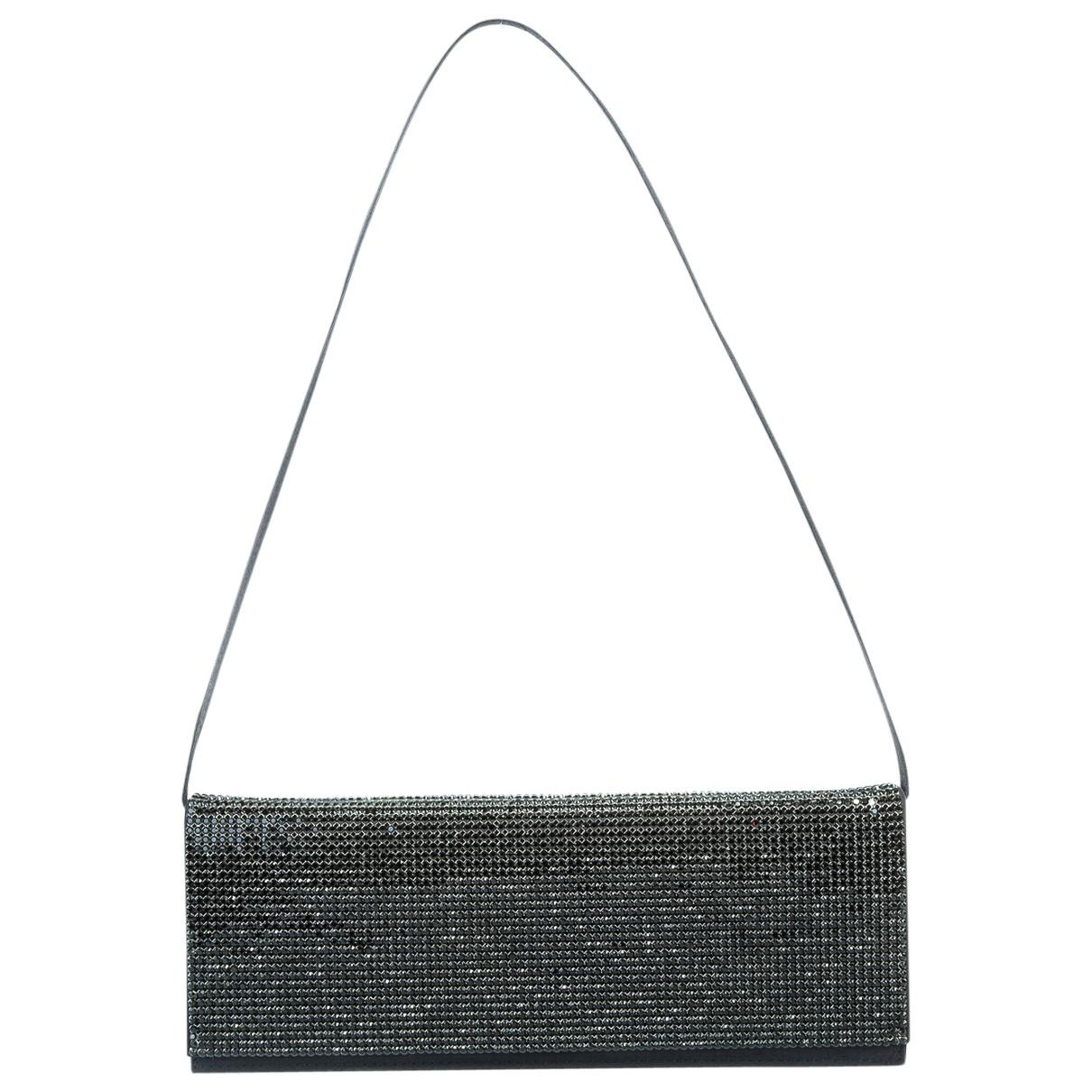Escada - Pochette   pour femme en toile - noir