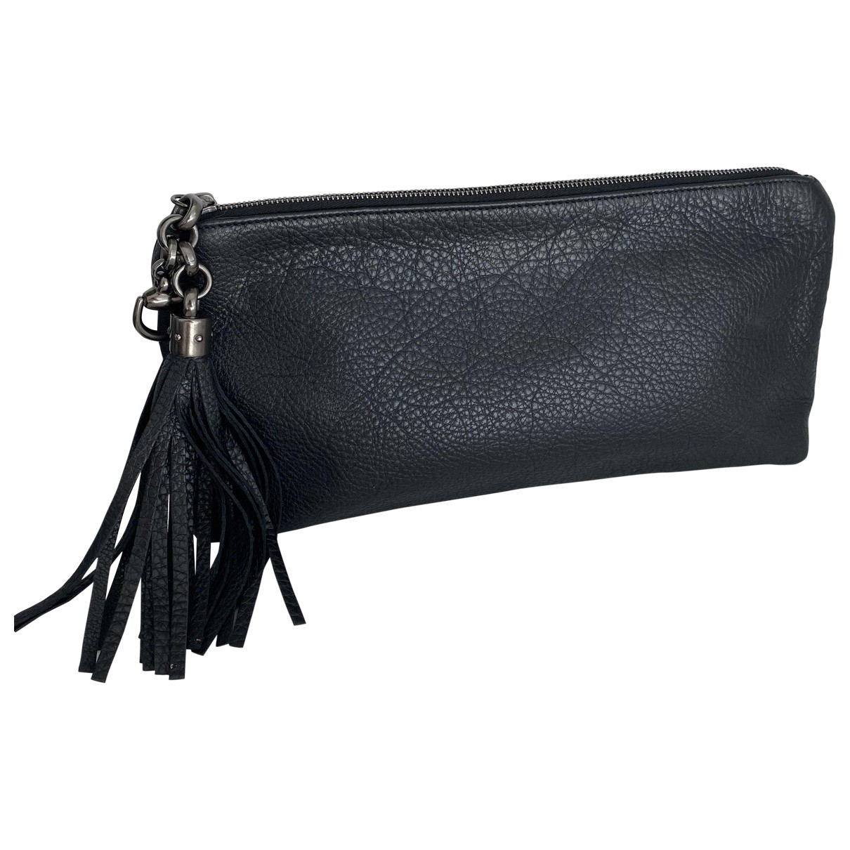 Gucci Hobo Black Leather Clutch bag for Women \N