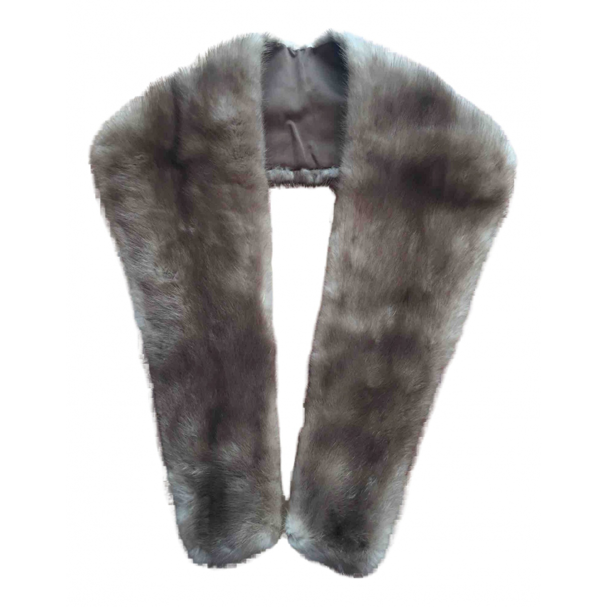 Non Signé / Unsigned N Mink scarf for Women N