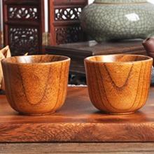 1pc Wooden Tea Cup