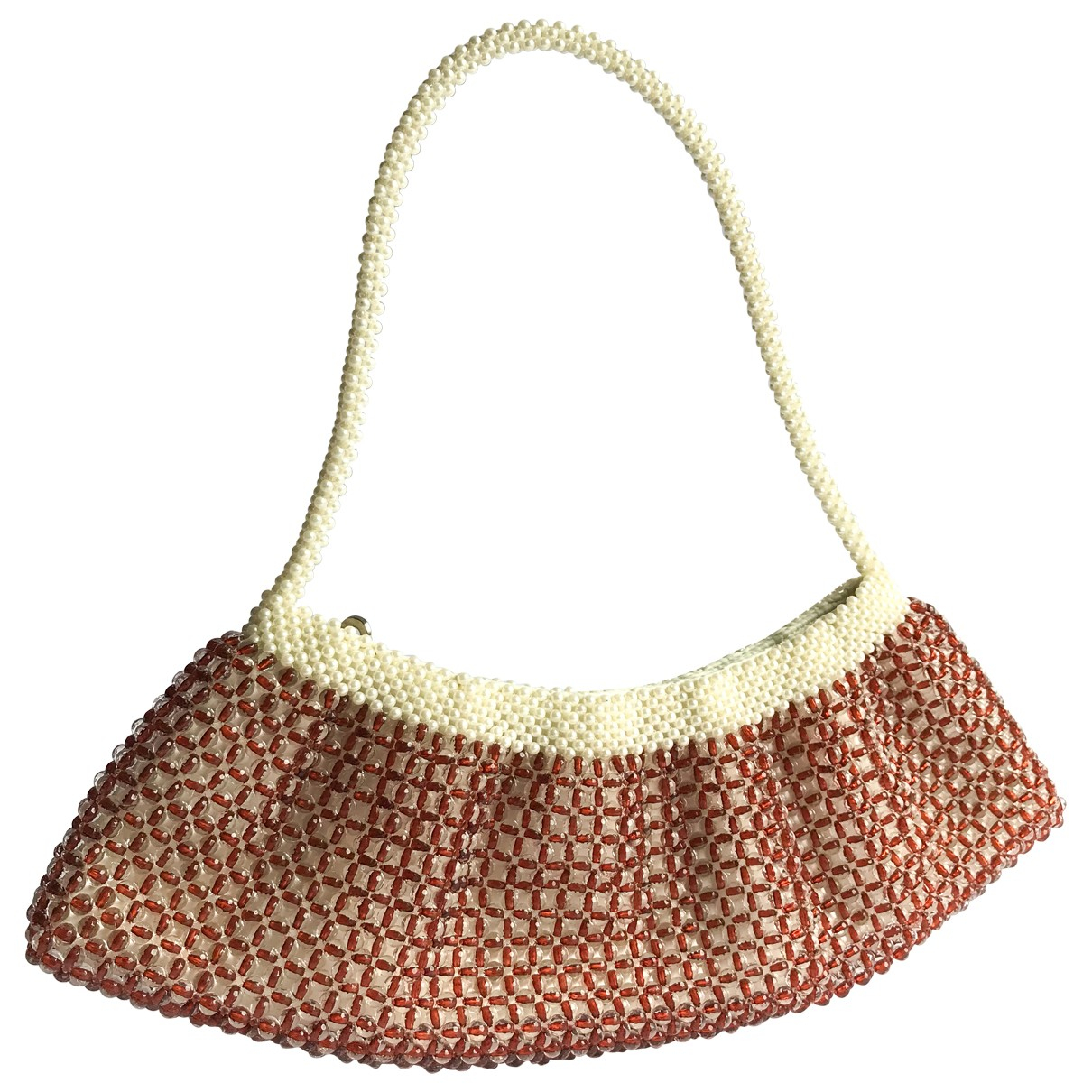 Non Signé / Unsigned \N Brown handbag for Women \N