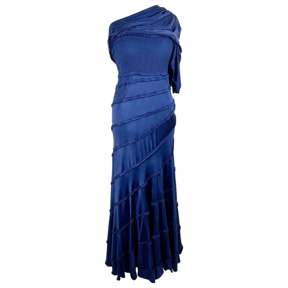 Catherine Malandrino \N Kleid in  Blau Seide
