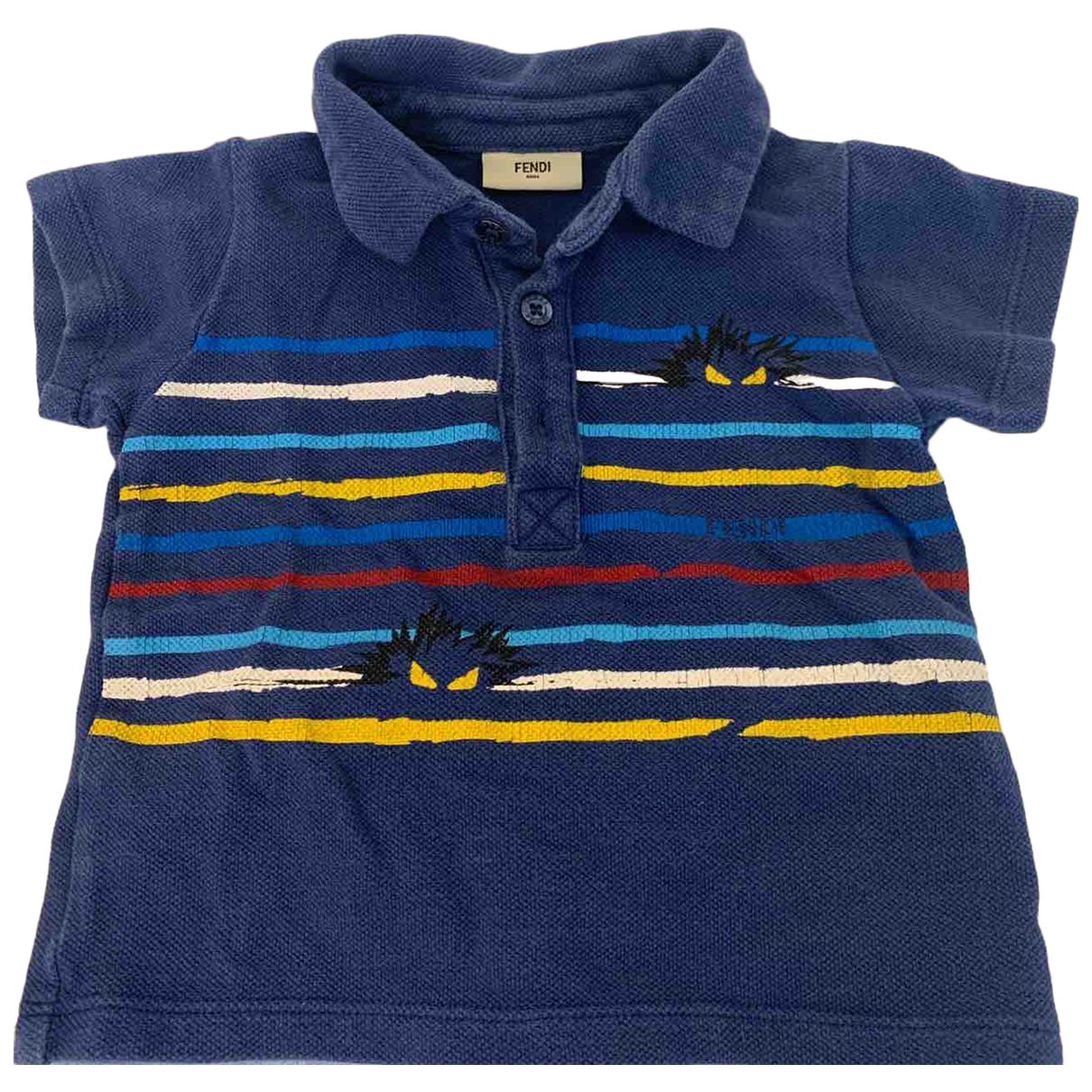 Fendi \N Multicolour Cotton  top for Kids 9 months - up to 71cm FR