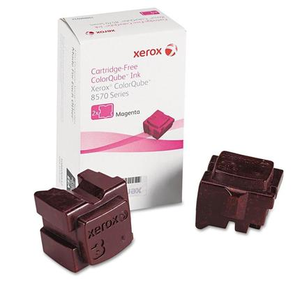 Xerox 108R00927 Original Magenta Solid Ink For ColorQube 8570 Printer - 2 Sticks/Pack