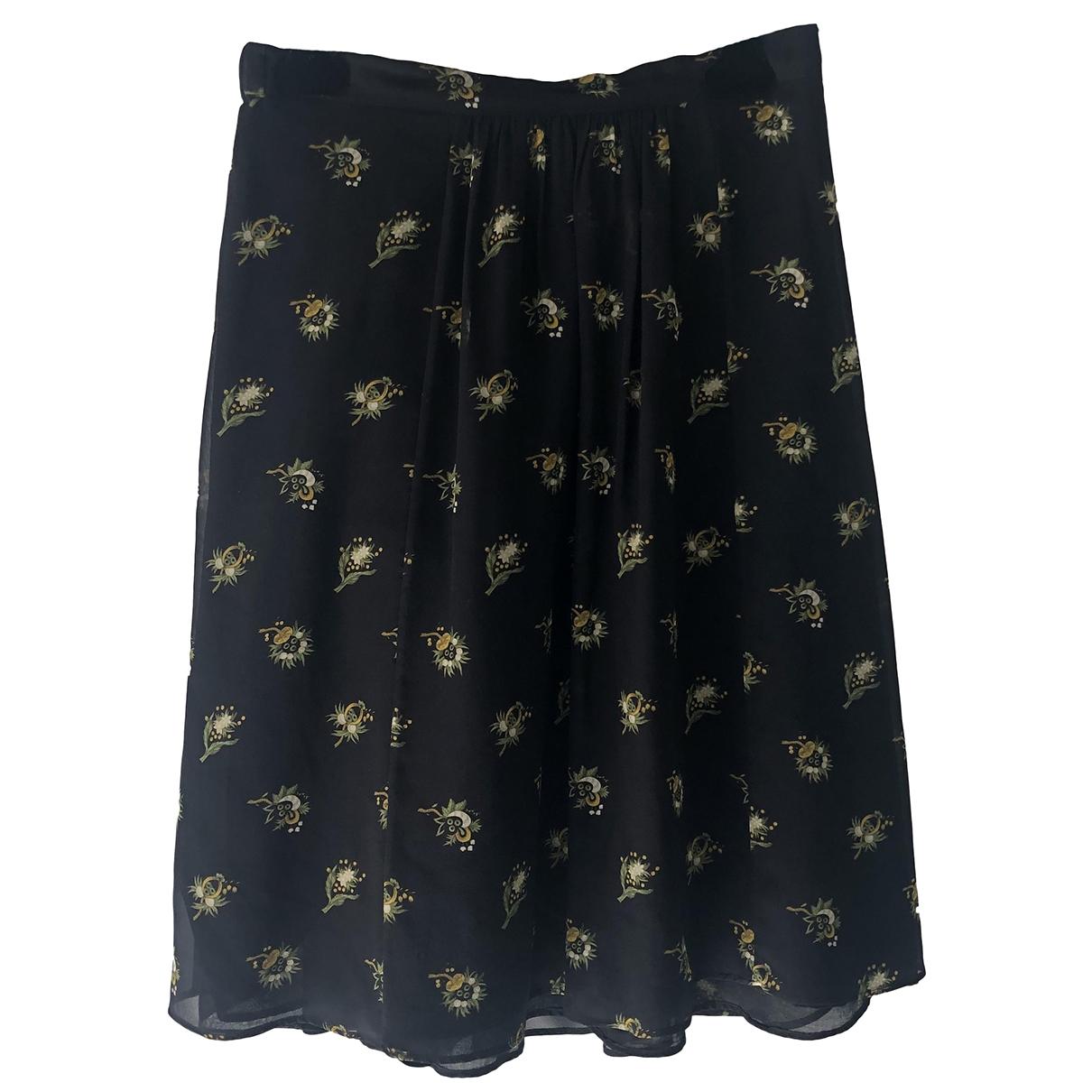 Masscob \N Black Silk skirt for Women 38 FR