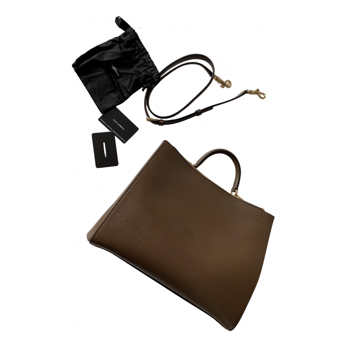 Dolce & Gabbana N Brown Leather handbag for Women N