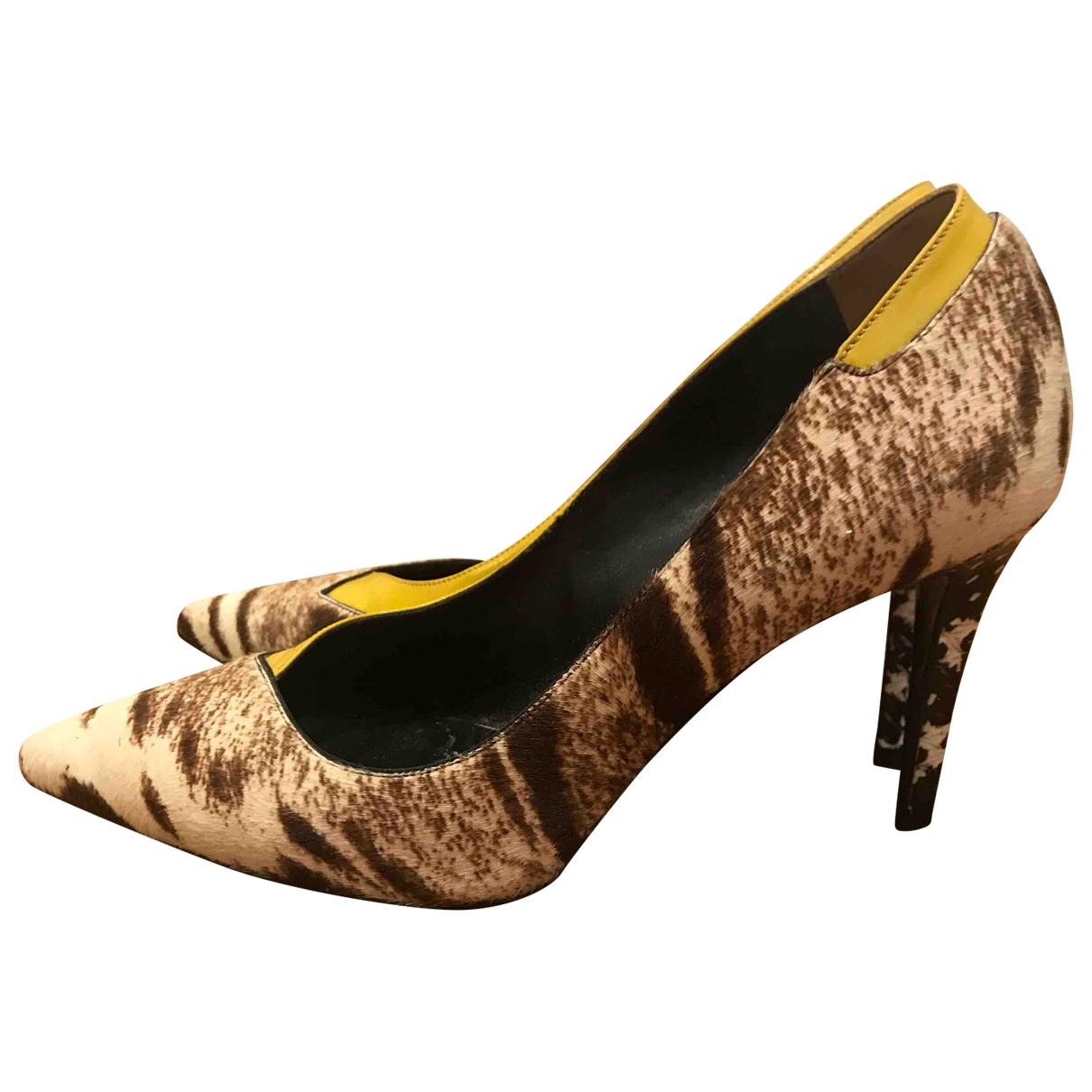 Fendi \N Multicolour Pony-style calfskin Heels for Women 37 EU