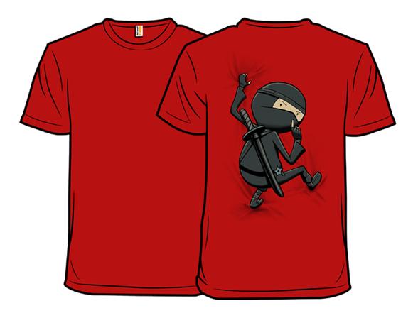 Shhhhhhh Tee Remix - Red T Shirt