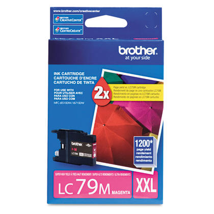Brother LC79M Original Magenta Ink Cartridge Extra High Yield