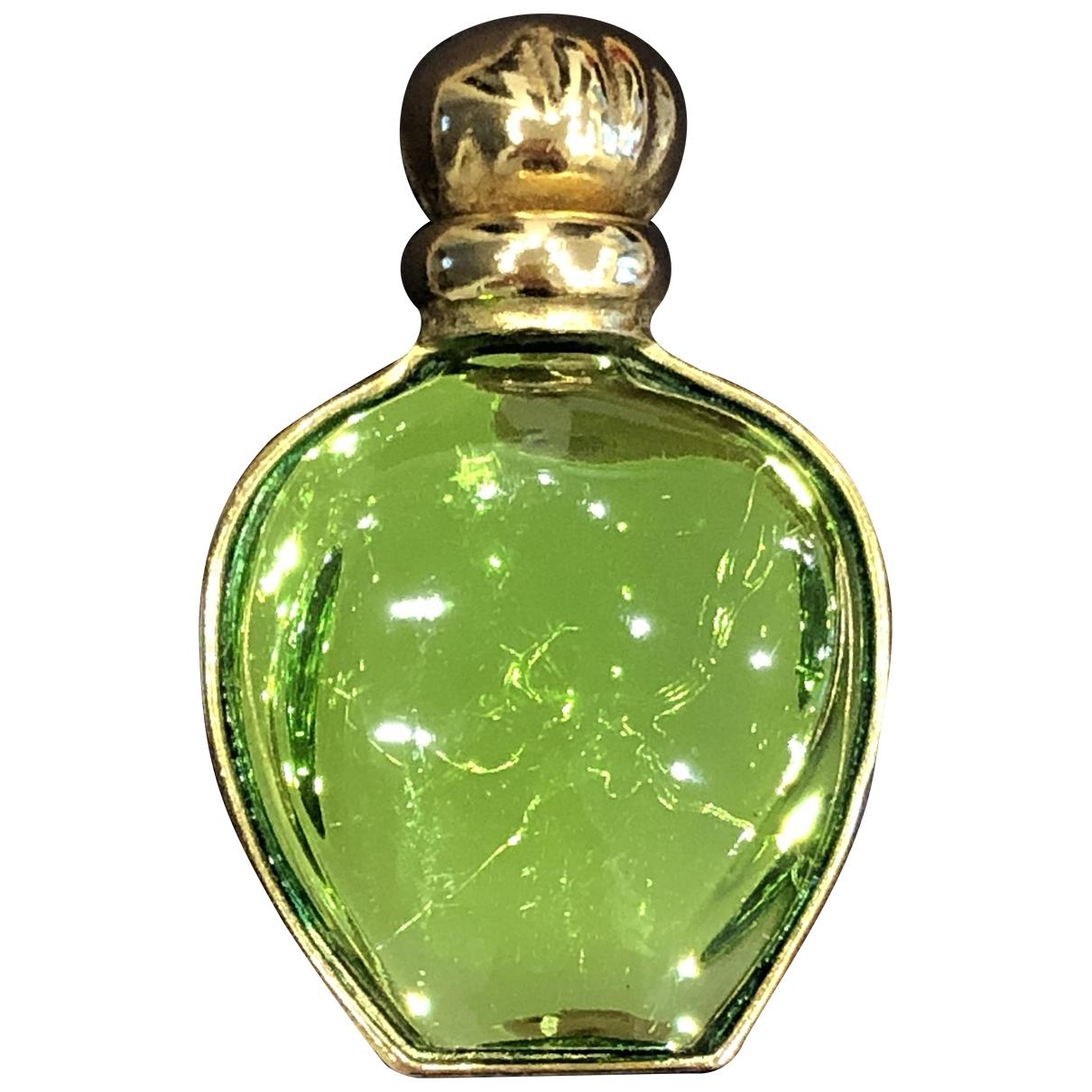 Broche en Vidrio Verde Dior