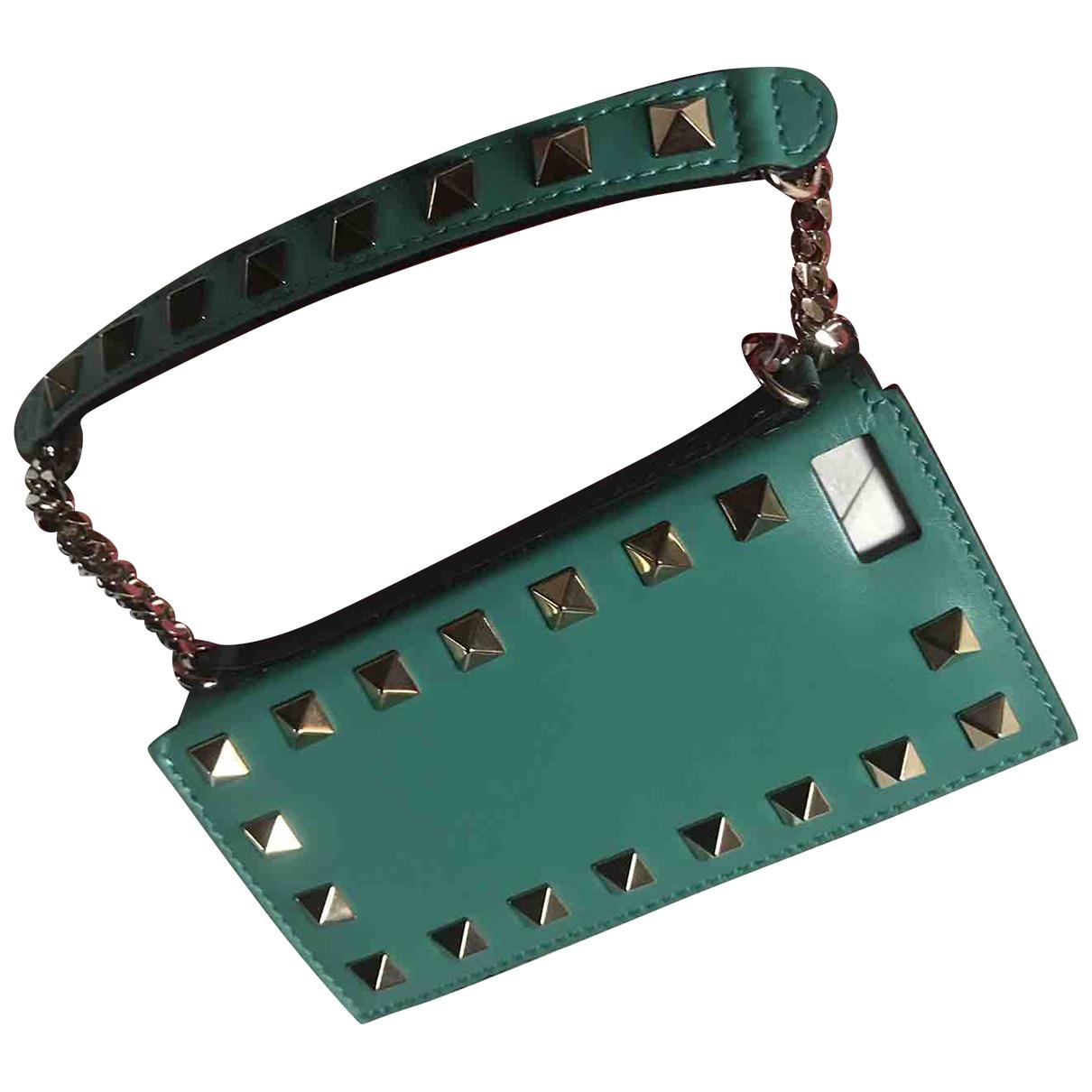Valentino Garavani - Accessoires   pour lifestyle en cuir - turquoise