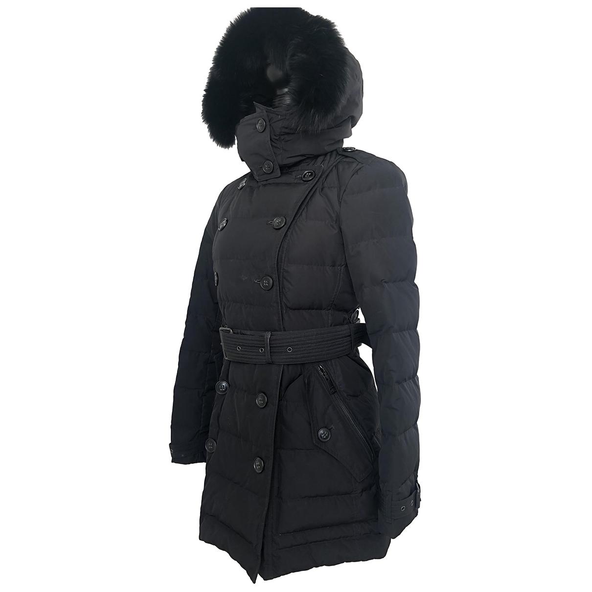 Burberry - Veste   pour femme en renard - noir