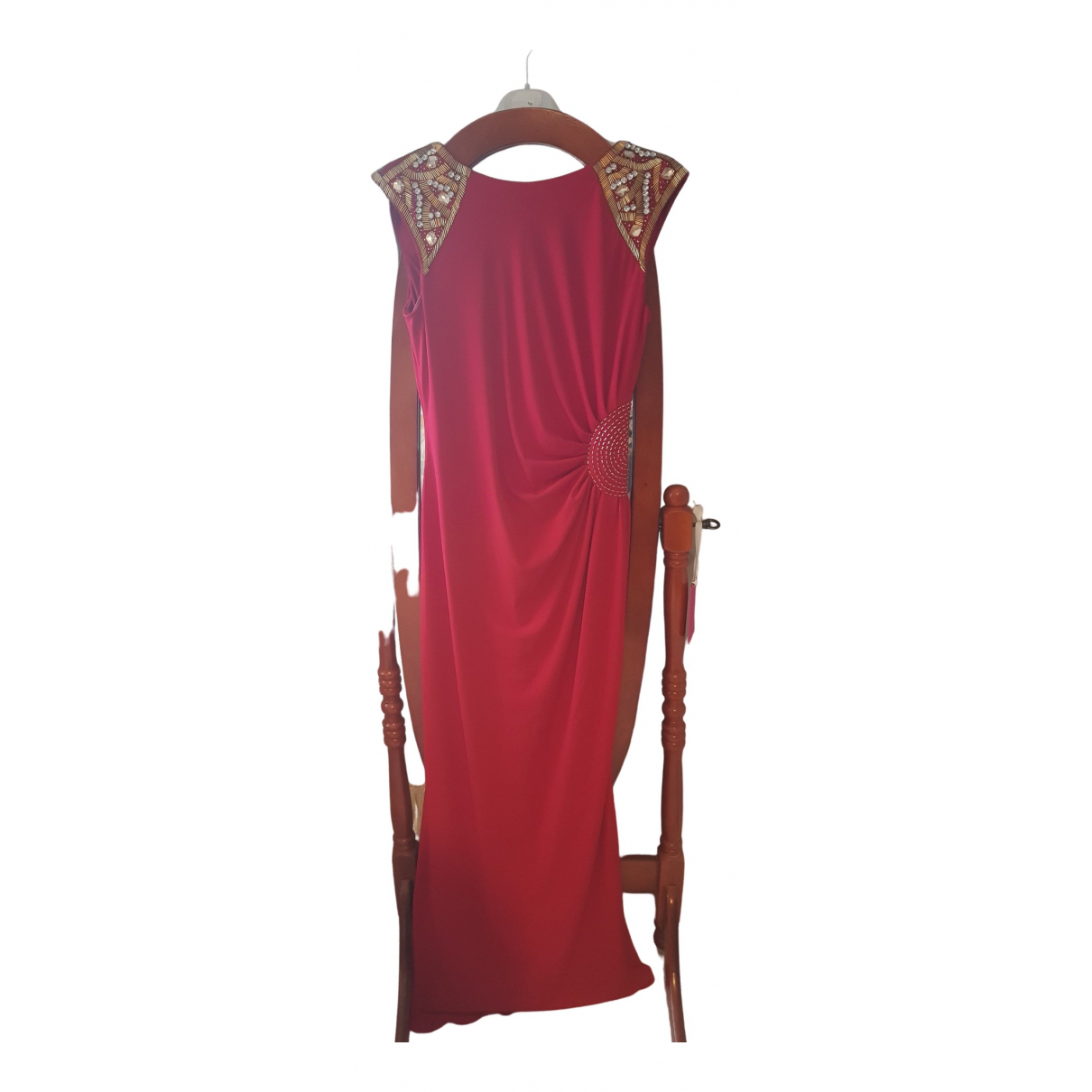 Js Collections \N Kleid in  Rot Polyester