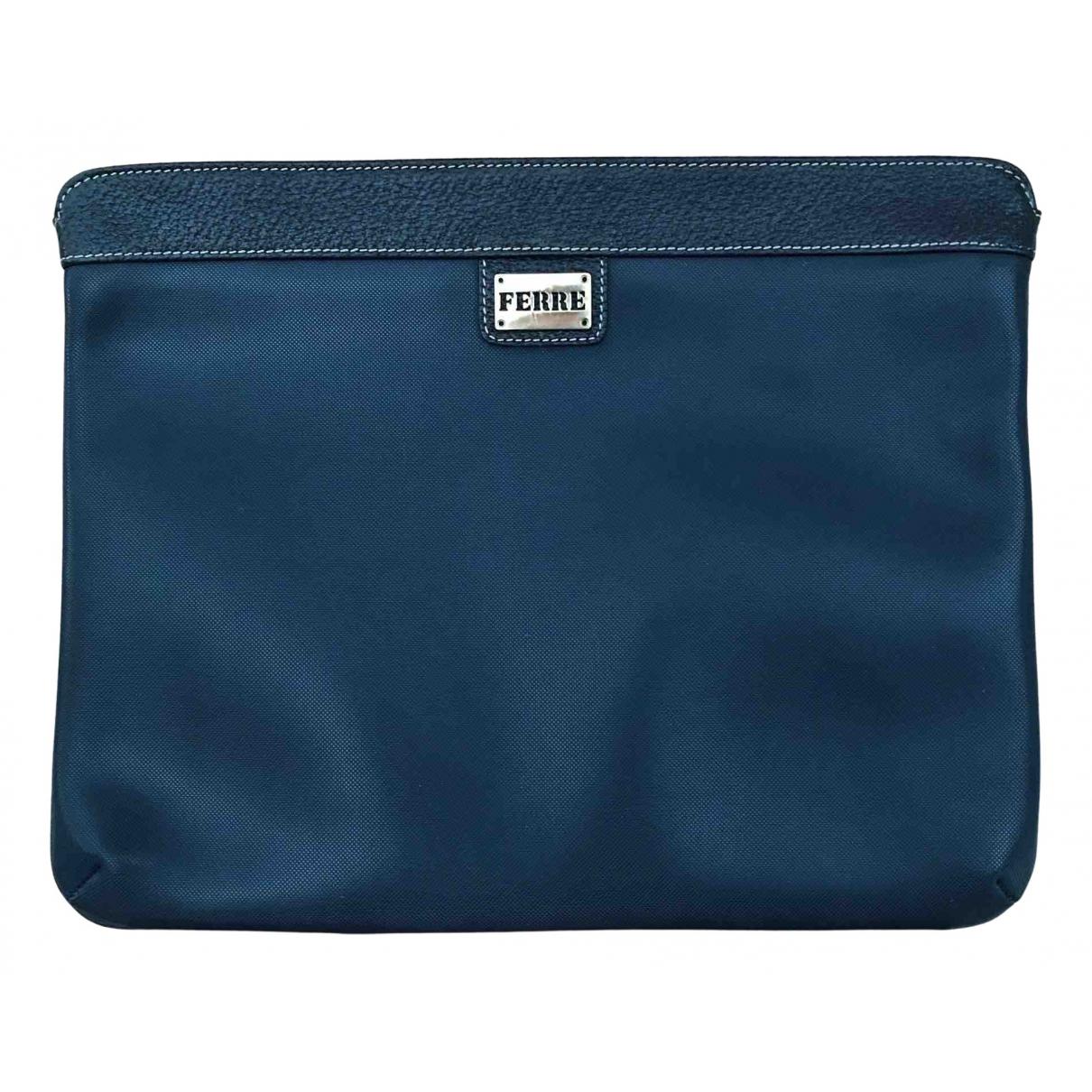 Gianfranco Ferré N Blue Clutch bag for Women N
