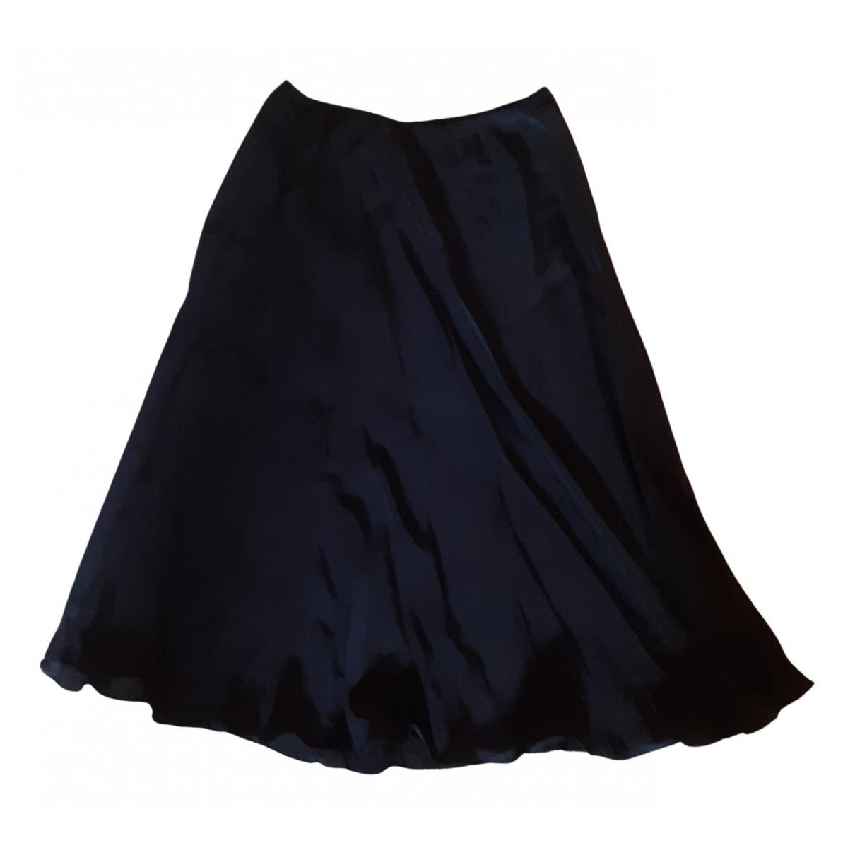 Patrizia Pepe - Jupe   pour femme en soie - noir