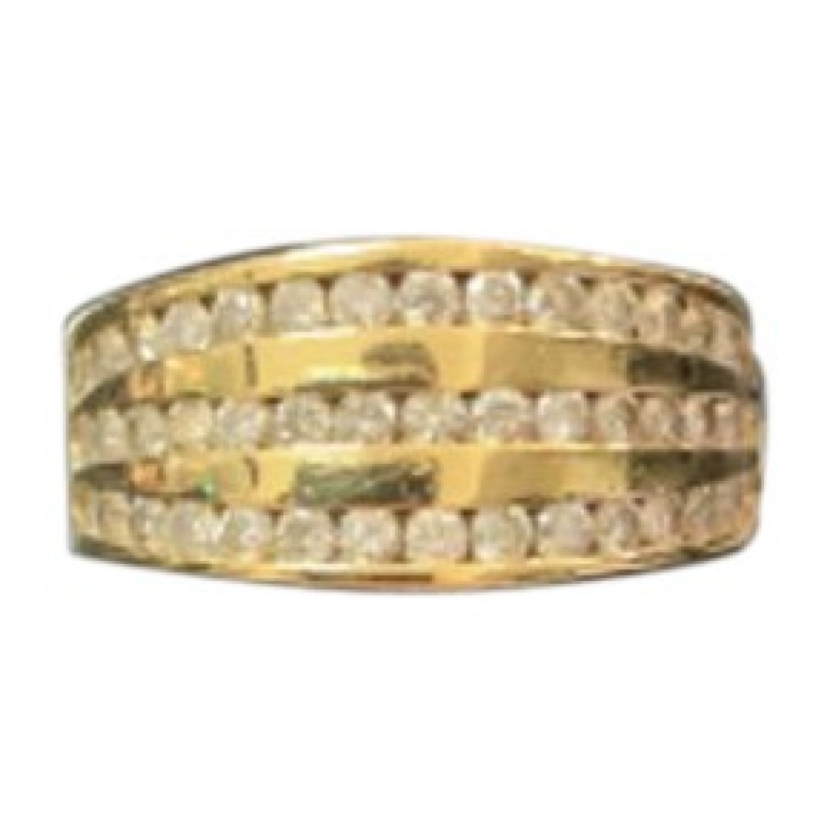 Non Signé / Unsigned \N Gold Yellow gold ring for Women 55 MM