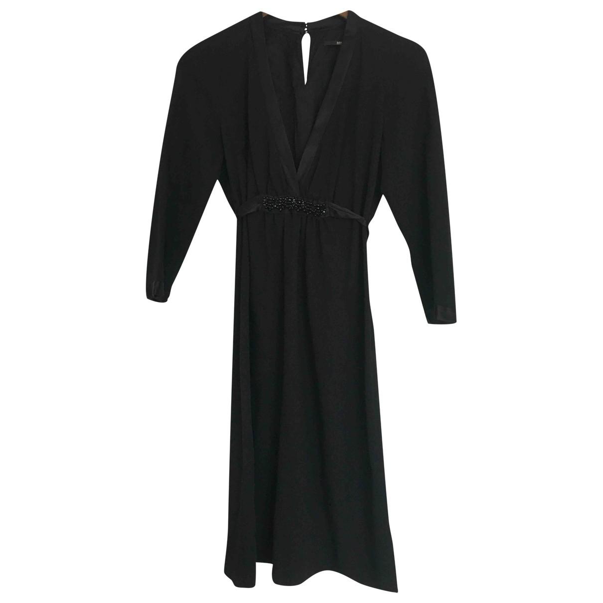 Boss \N Kleid in  Schwarz Wolle