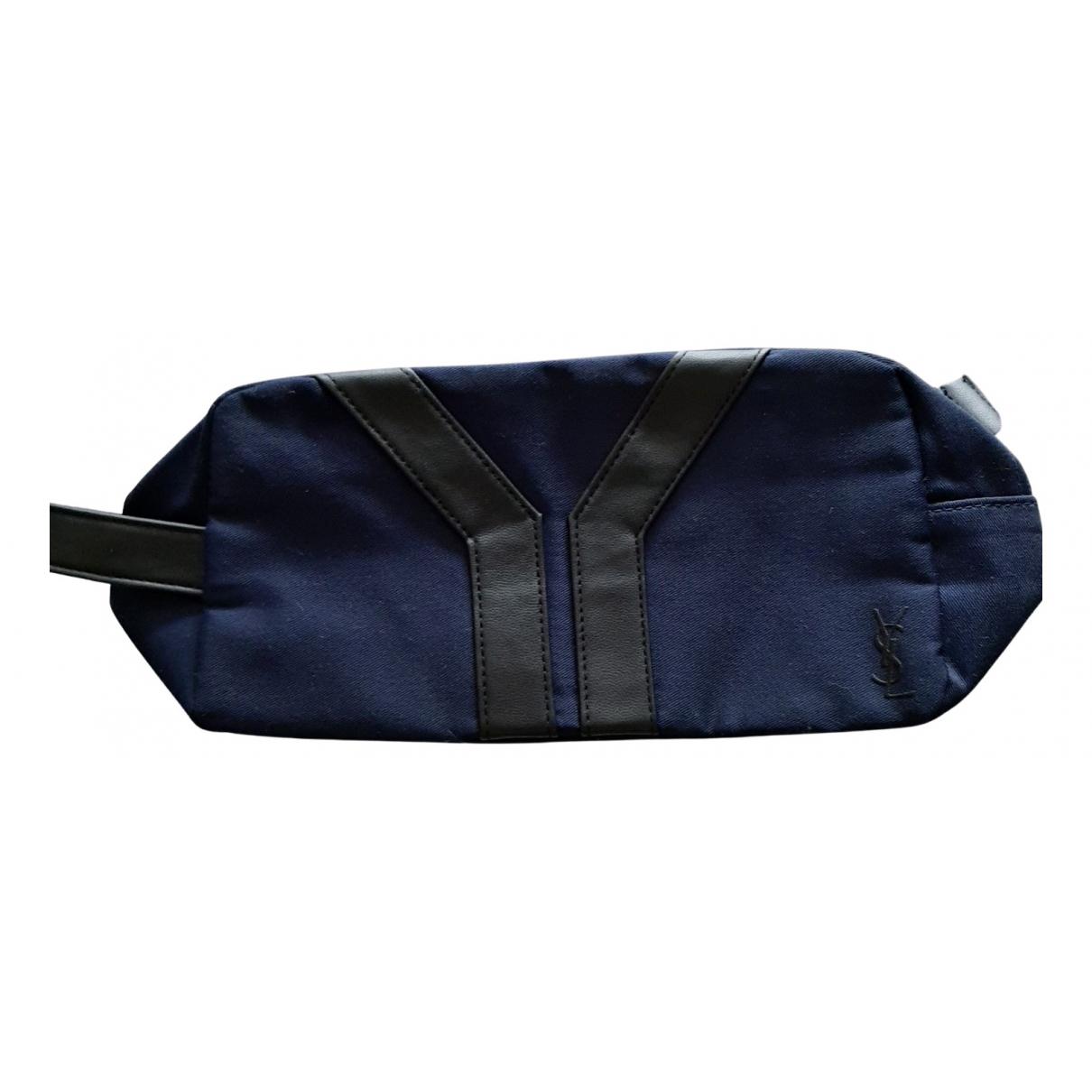 Yves Saint Laurent - Sac de voyage   pour femme en toile - bleu