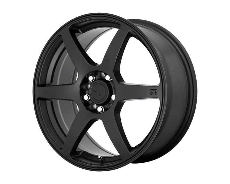 Motegi CS6 Wheel 15x6.5 4X100/4.25 40mm Satin Black