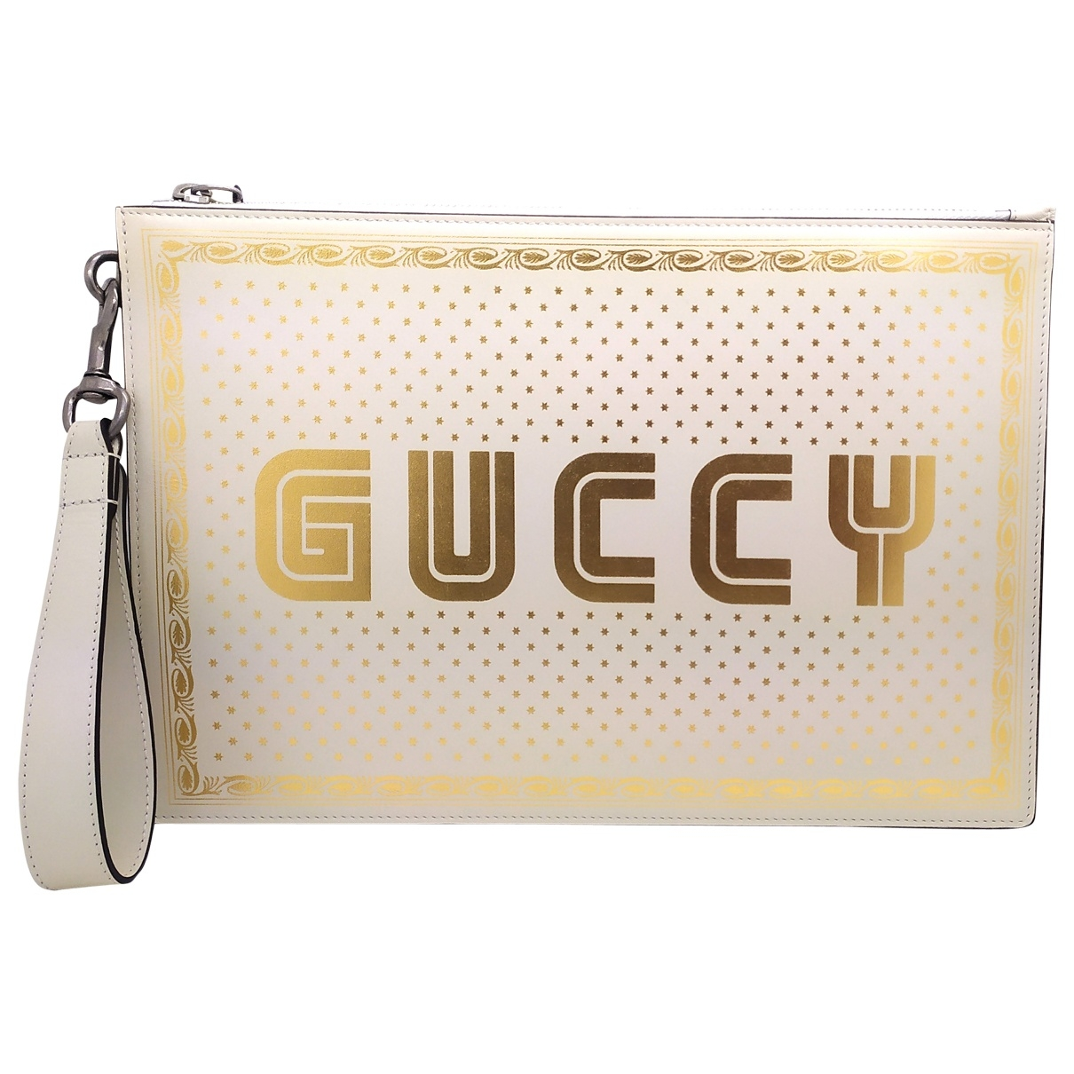 Pochette Guccy clutch de Cuero Gucci