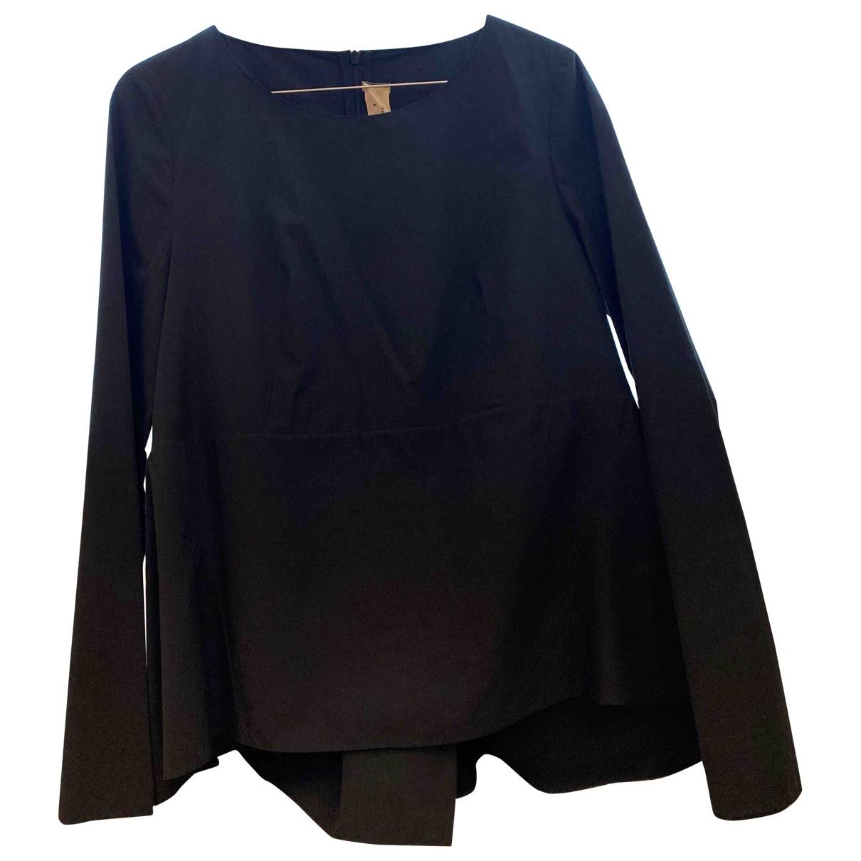 Marni \N Black Cotton  top for Women 40 IT