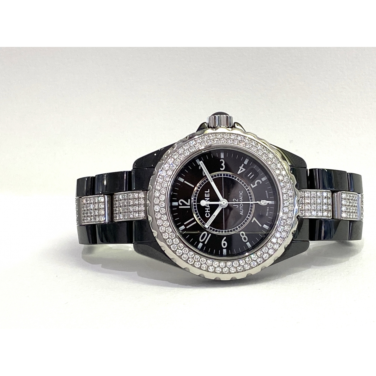 Chanel J12 Automatique Black Ceramic watch for Women \N