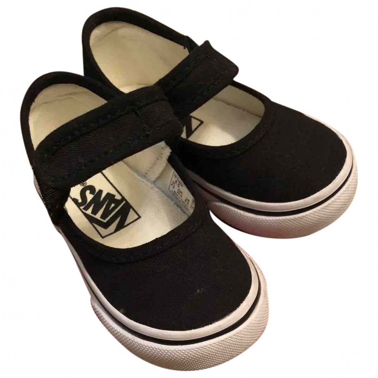 Vans \N Black Cloth Trainers for Kids 20 EU