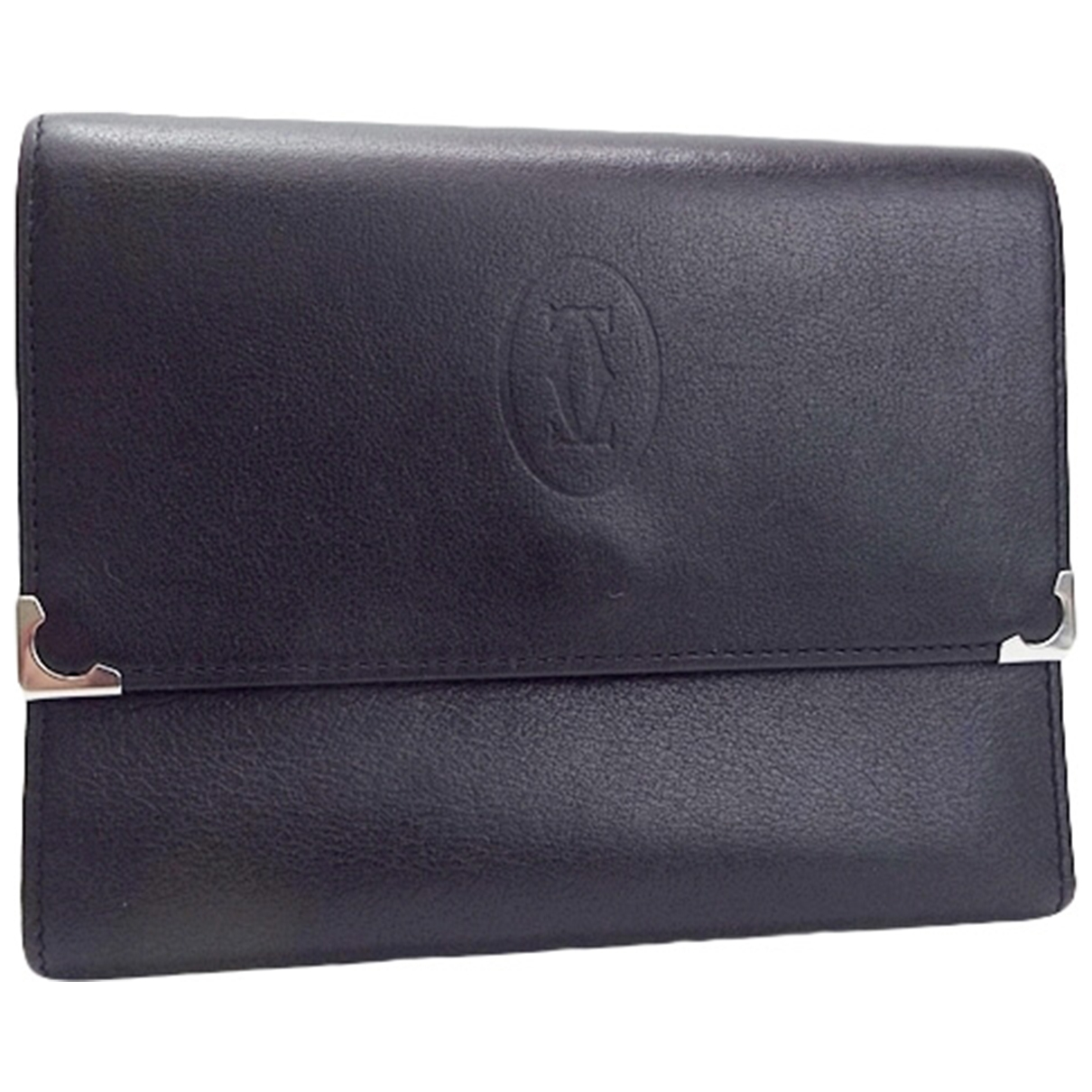 Cartier \N Black Leather wallet for Women \N
