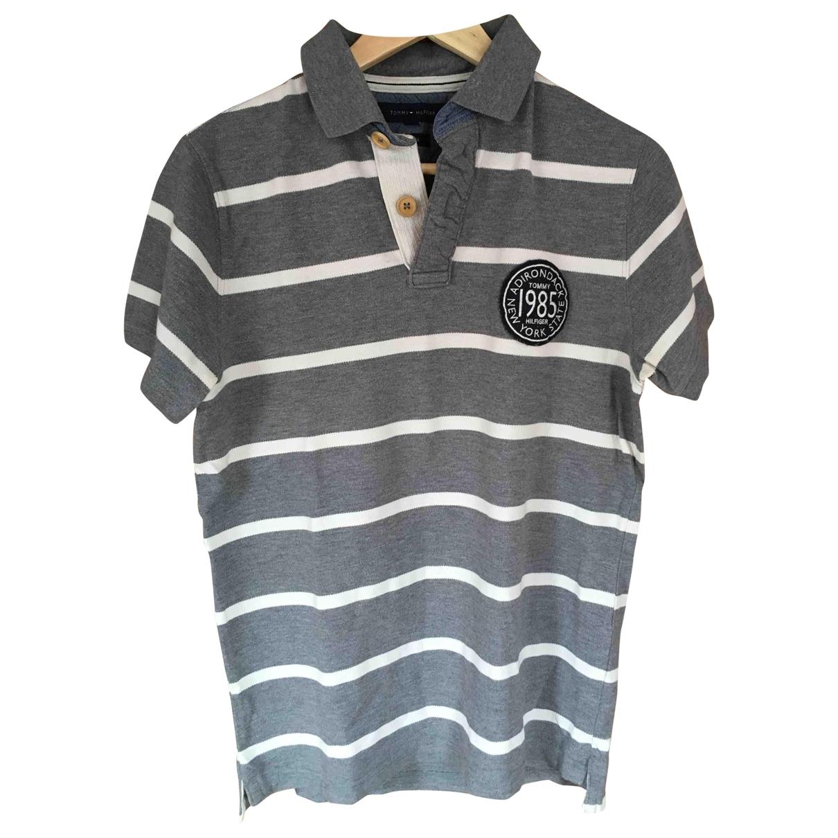 Tommy Hilfiger \N Poloshirts in  Grau Baumwolle