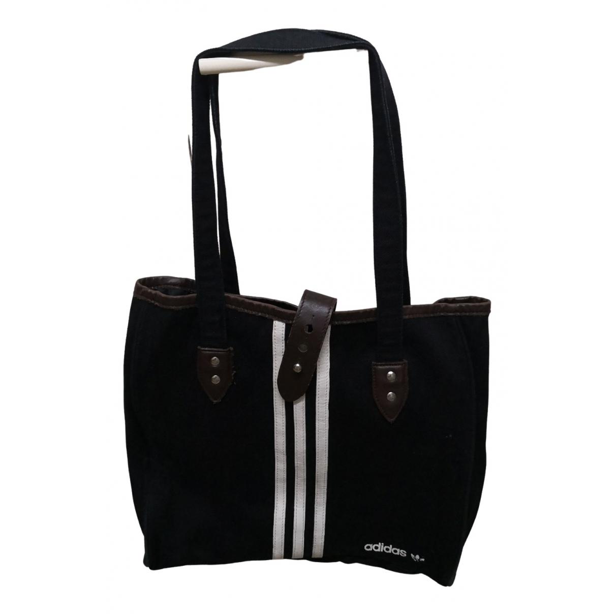 Adidas \N Handtasche in  Schwarz Denim - Jeans