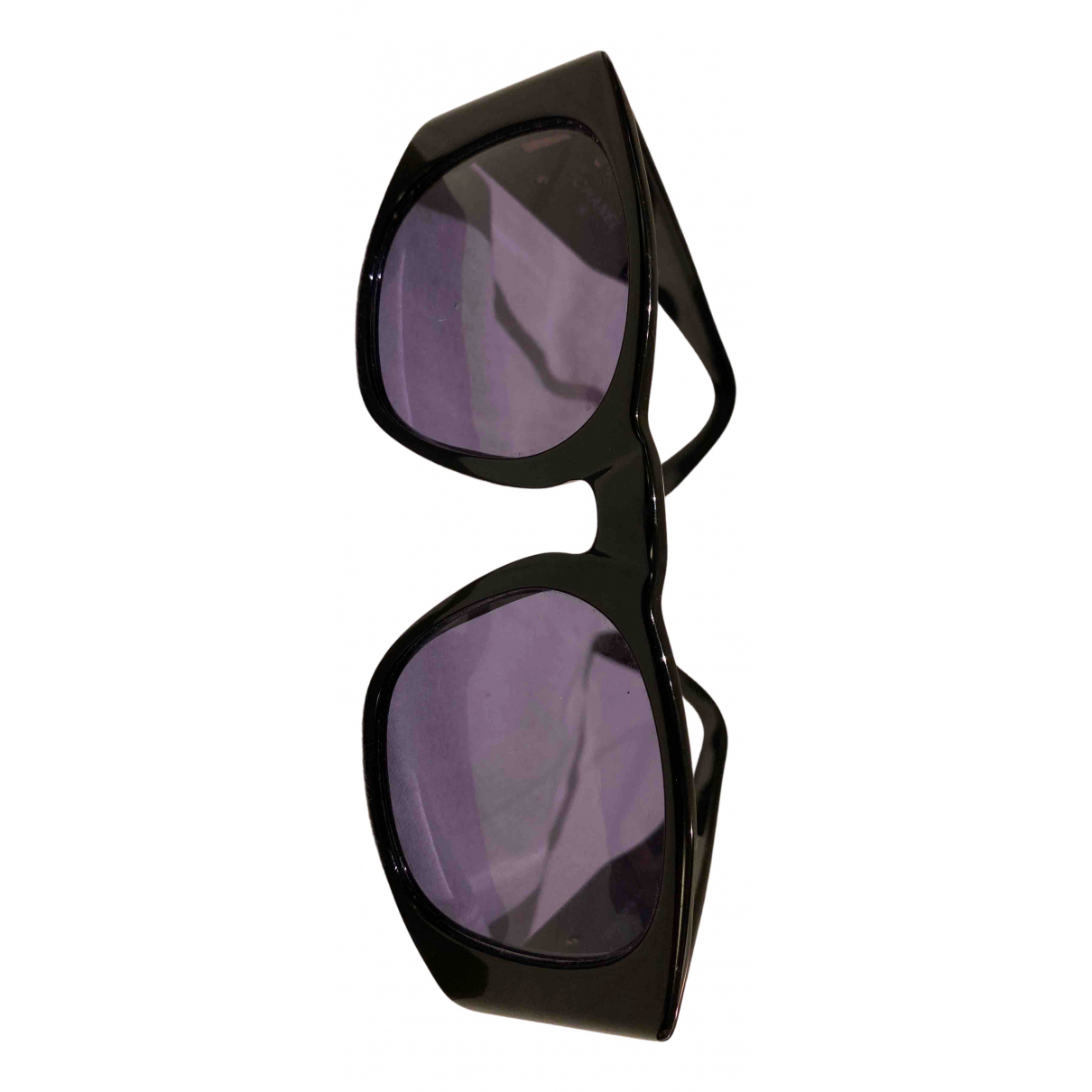 Chanel N Black Sunglasses for Women N
