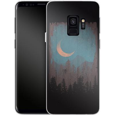 Samsung Galaxy S9 Silikon Handyhuelle - Those Summer Nights von ND Tank