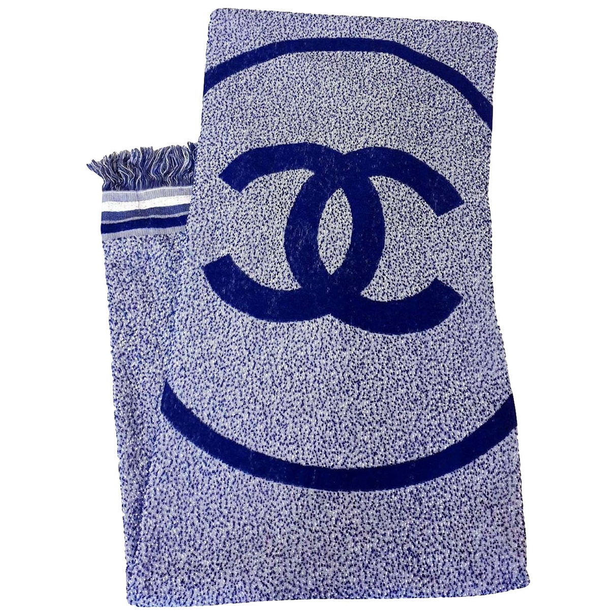 Chanel \N Blue Cotton Textiles for Life & Living \N