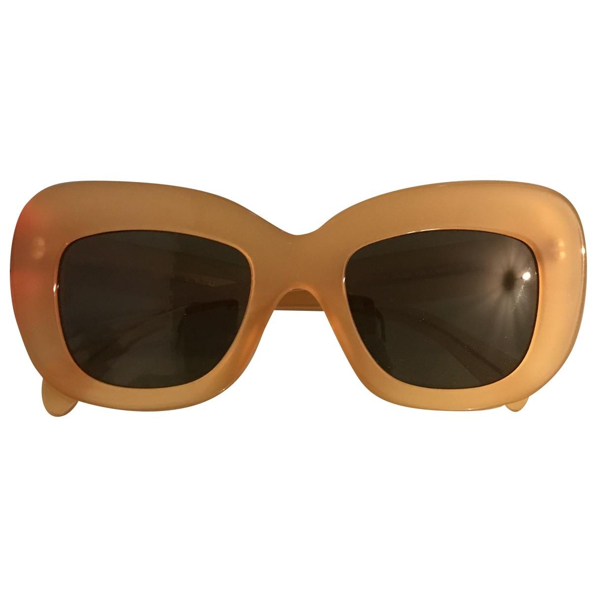 Celine \N Yellow Sunglasses for Women \N