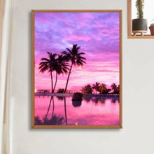 Landscape Print DIY Diamond Painting Without Frame