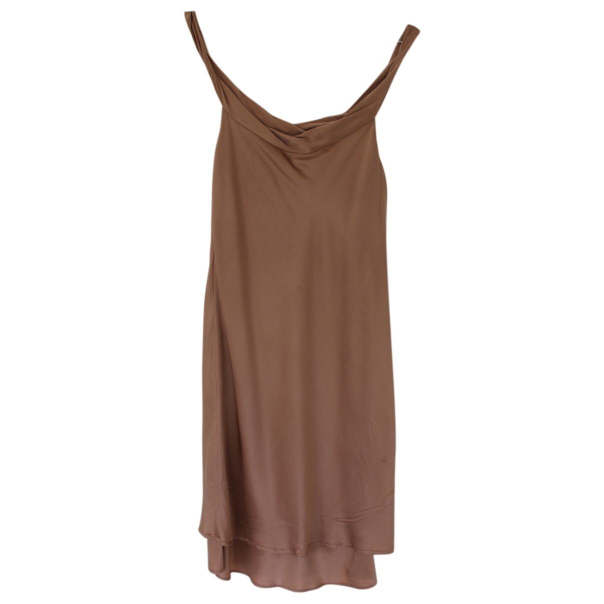 Vestido de Seda Ambre Et Babzoe
