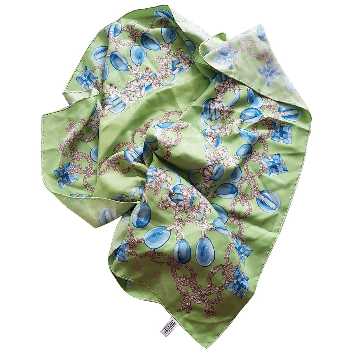 Nina Ricci \N Multicolour Silk scarf for Women \N