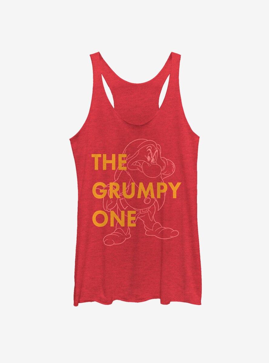 Disney Snow White Grumpy One Womens Tank
