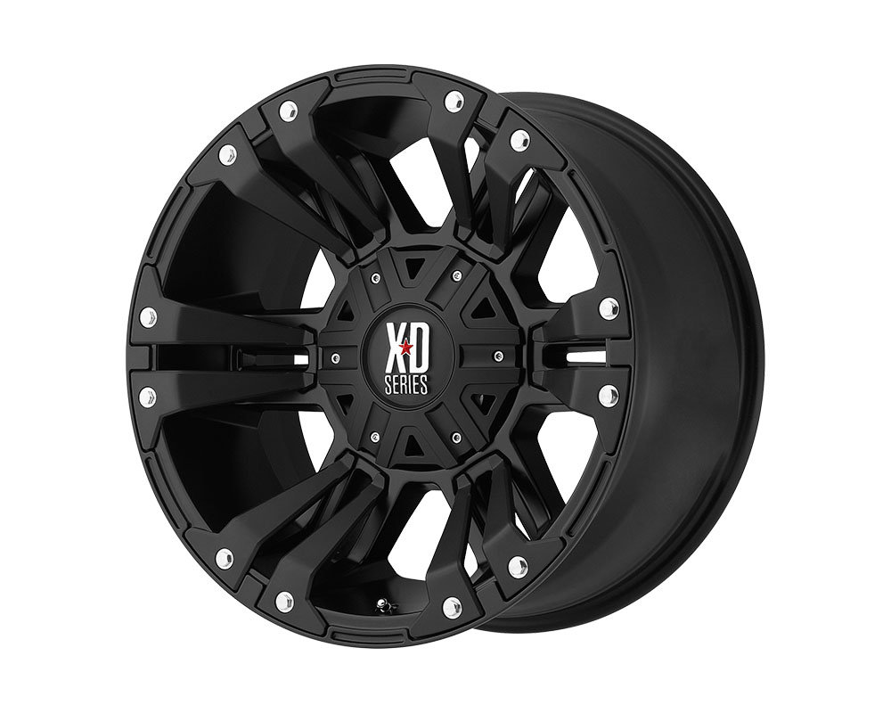 XD Series XD82289080718 XD822 Monster II Wheel 18x9 8x8x165.1 +18mm Matte Black