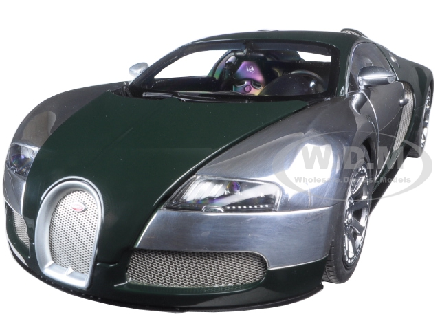 Bugatti EB Veyron LEdition Centenaire Racing Green Malcolm Campbell 1/18 Diecast Model Car  by Autoart