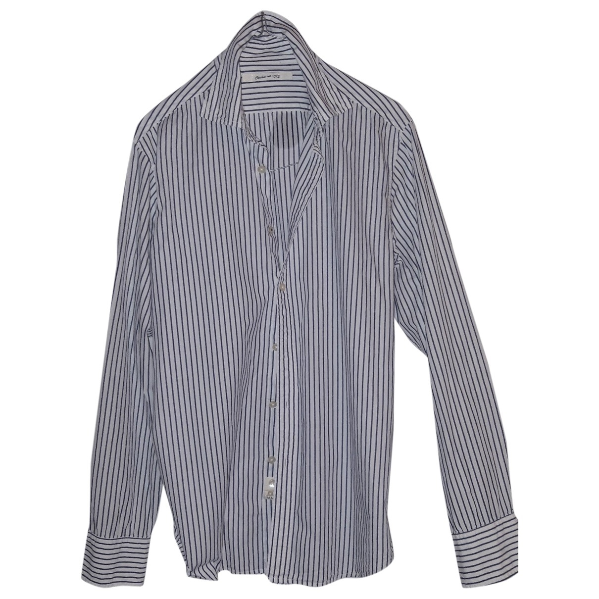 Non Signe / Unsigned \N Hemden in  Weiss Baumwolle