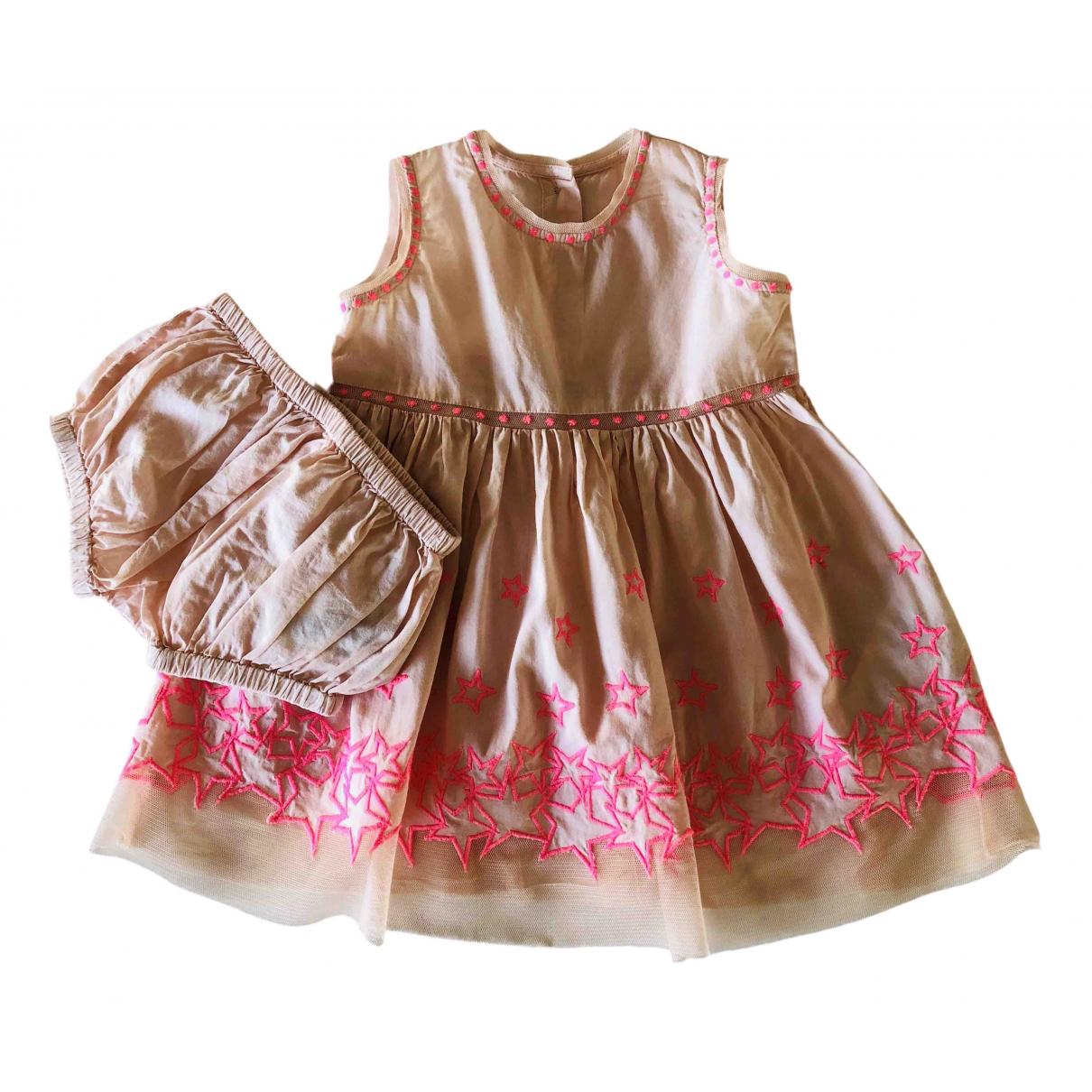 Stella Mccartney Kids - Robe    pour enfant en coton - rose