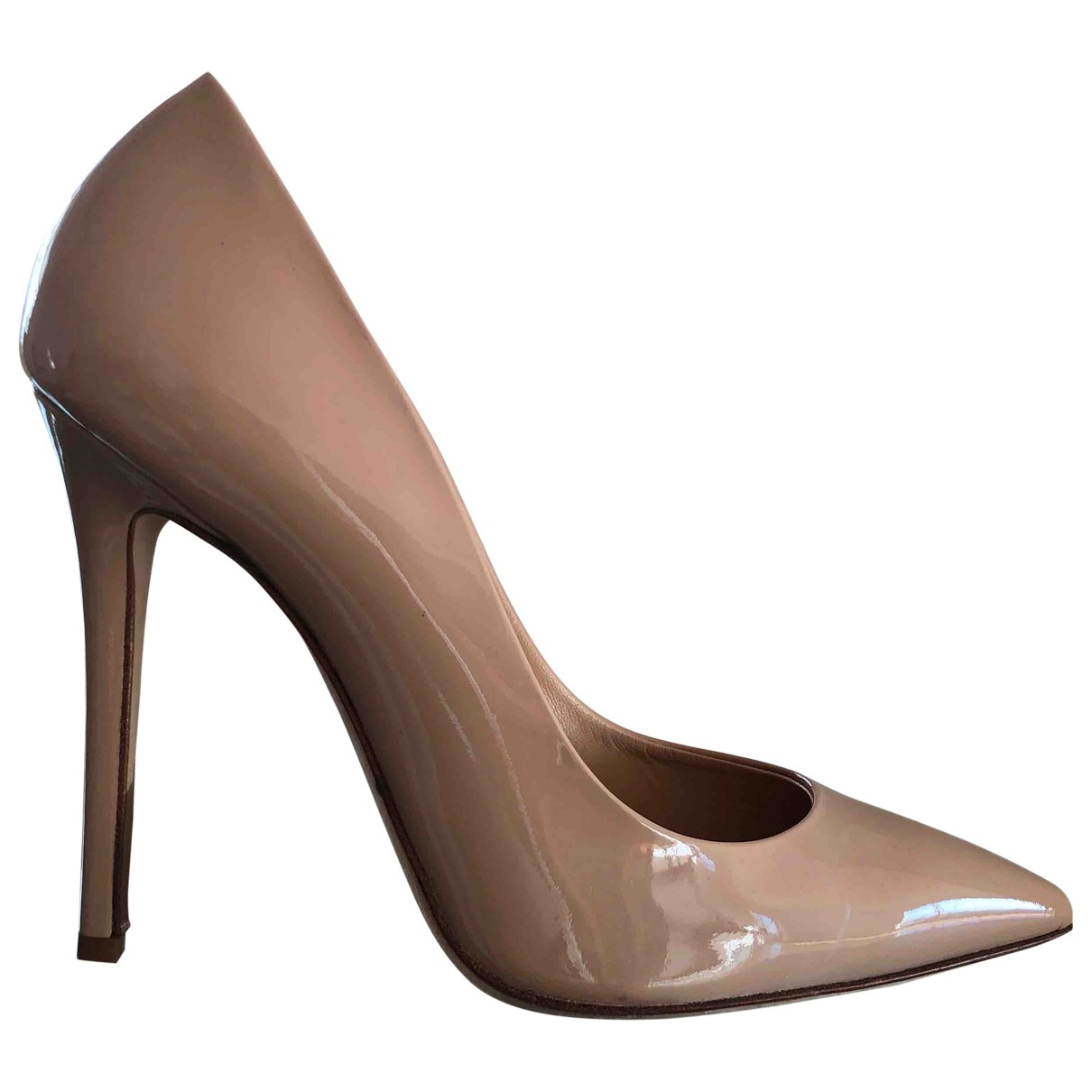 Ermanno Scervino \N Patent leather Heels for Women 39.5 EU
