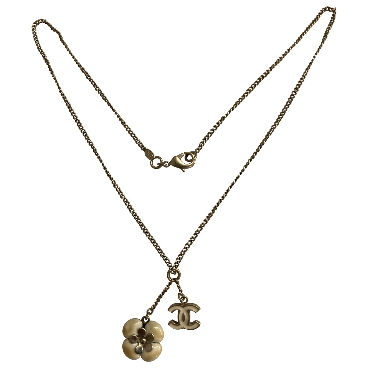 Chanel CC Beige Metal necklace for Women \N
