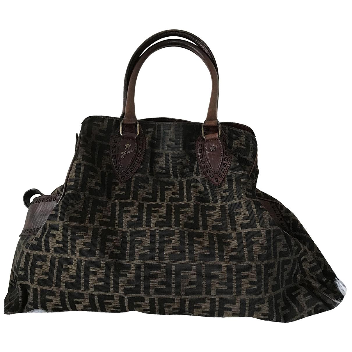 Fendi \N Brown Cloth handbag for Women \N