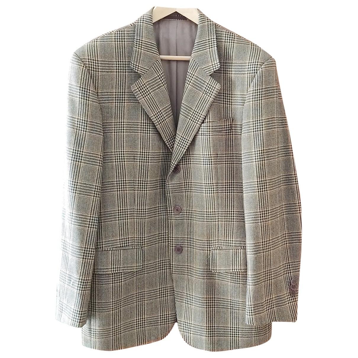 Burberry - Vestes.Blousons   pour homme en laine - multicolore