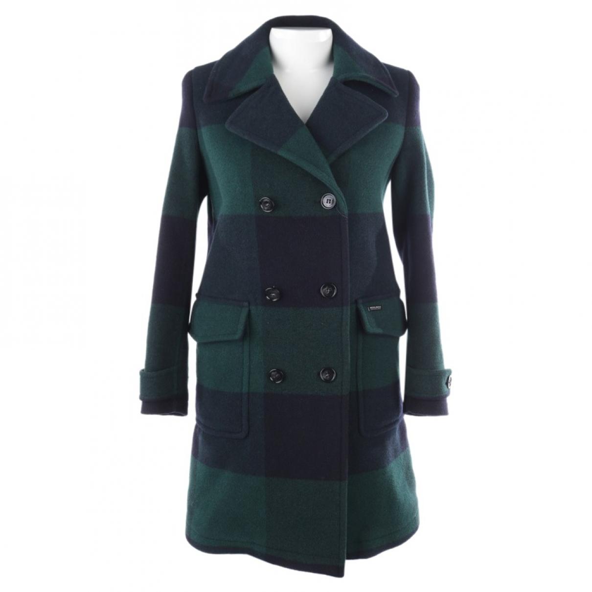Woolrich \N Green Wool coat for Women XS International