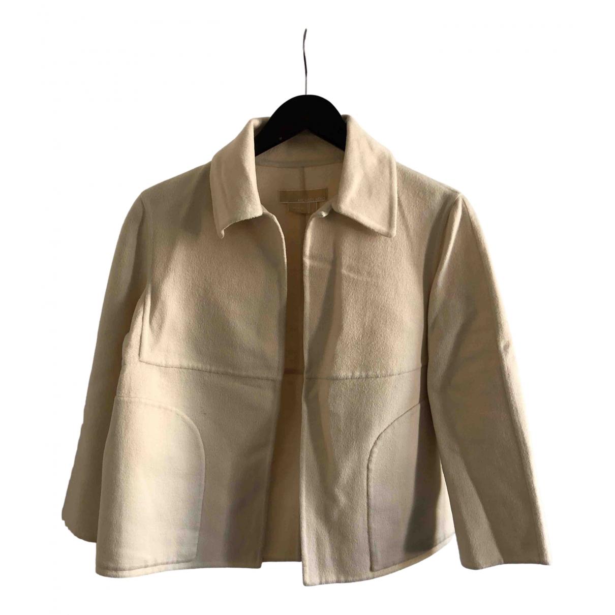 Michael Kors - Veste   pour femme en laine - blanc