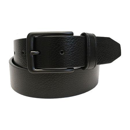 JF J.Ferrar Mens Stretch Belt, Medium , Black