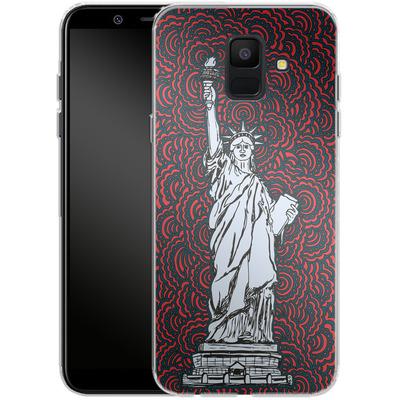 Samsung Galaxy A6 Silikon Handyhuelle - Liberty von Kaitlyn Parker